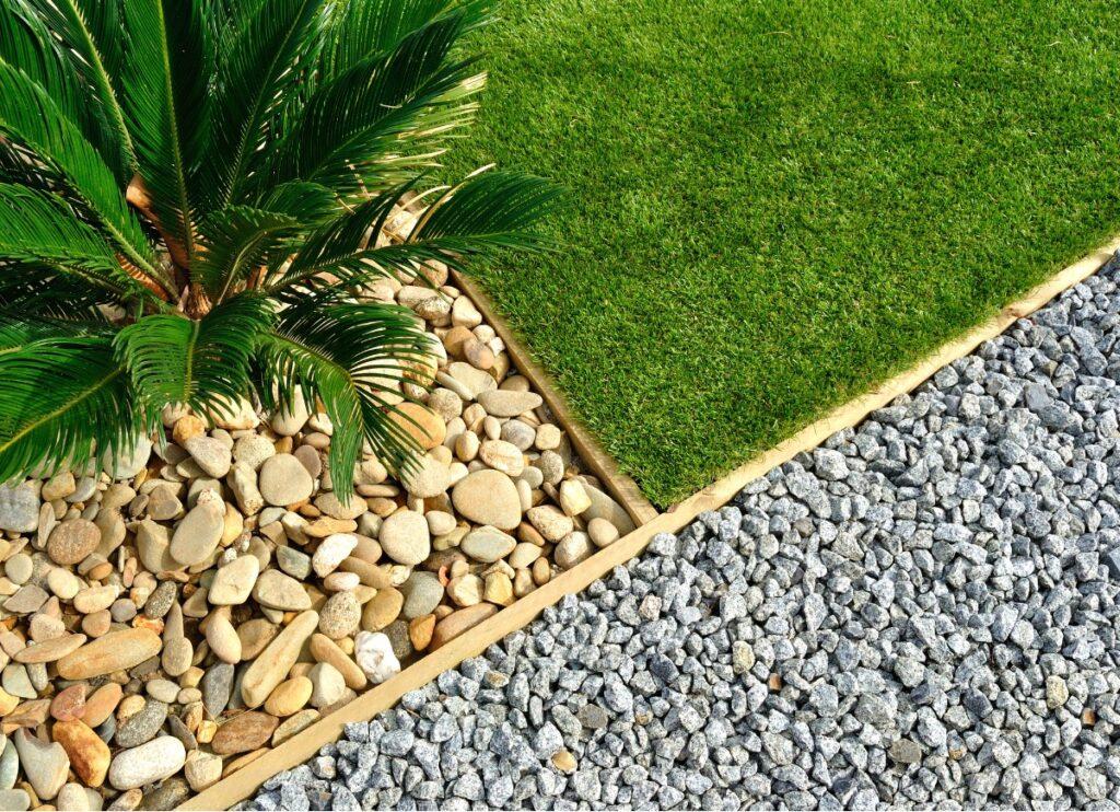 garden gravel stone
